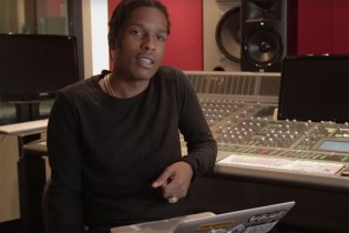 "A$AP Rocky Responds to YouTube Comments Written on ""L$D"" Music Video"