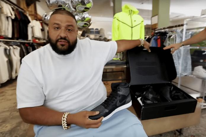 DJ Khaled Goes Sneaker Shopping