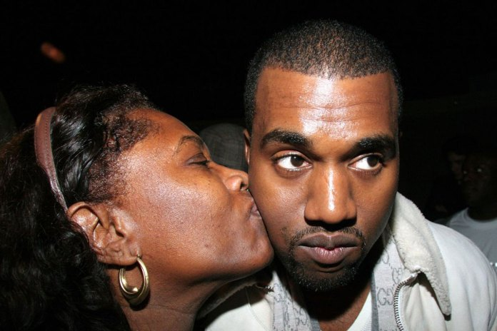 Watch a Fan Gift Kanye West Artwork of the Late Donda West With Her Granddaughter North