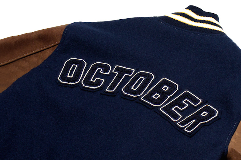 ovo x roots 2015 fallwinter varsity jacket