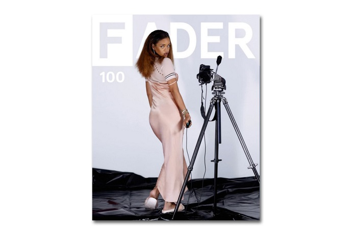 rihanna covers faders 100th issue