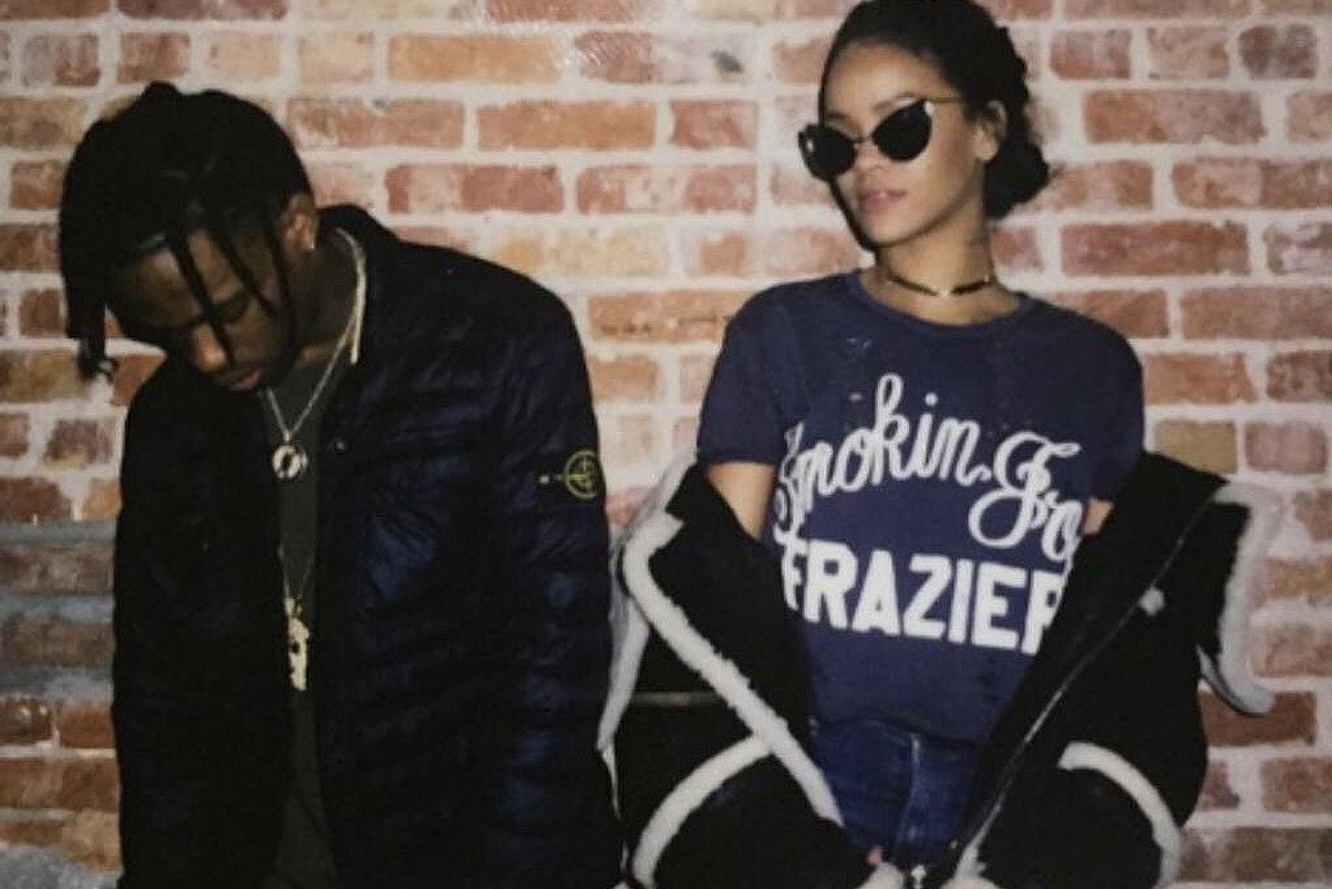 Rihanna Is Excited About Her Purchase of Travi$ Scott's 'Rodeo'