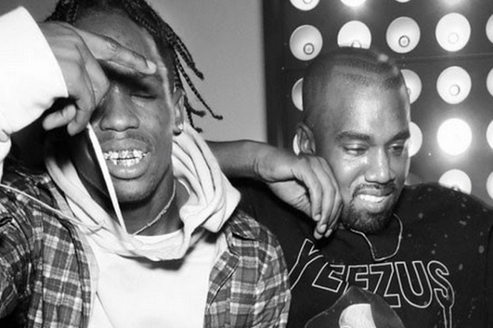 Travi$ Scott & Kanye West Are Unveiling Something Years In The Making