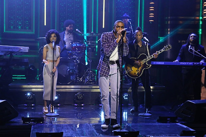 Vince Staples Performs With Jhené Aiko on The Tonight Show