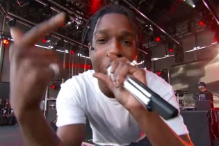 "Watch A$AP Rocky & ScHoolboy Q Perform ""Electric Body"" Live"