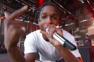"Watch A$AP Rocky & ScHoolboy Q Perform ""Electric Body"" Live"
