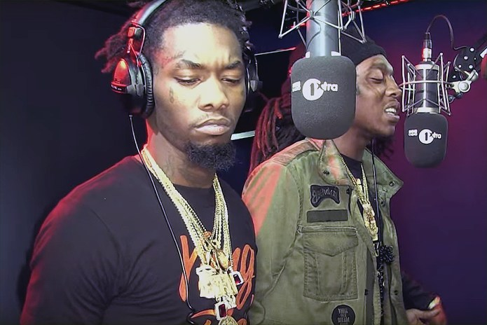 """Watch Migos Freestyle Over Skepta's """"That's Not Me"""" Instrumental"""