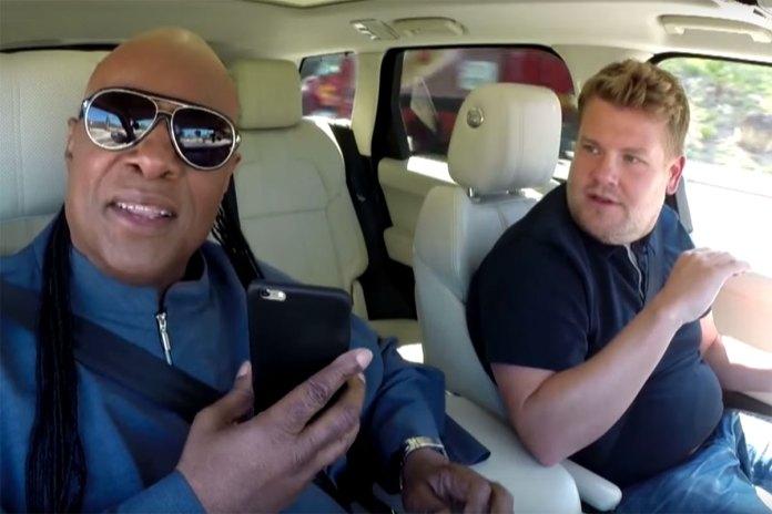 Watch Stevie Wonder Sing Classics in James Corden's 'Carpool Karaoke'