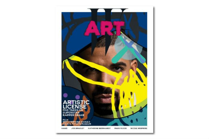 Check Out This Upcoming Drake x Kaws Cover for W Magazine