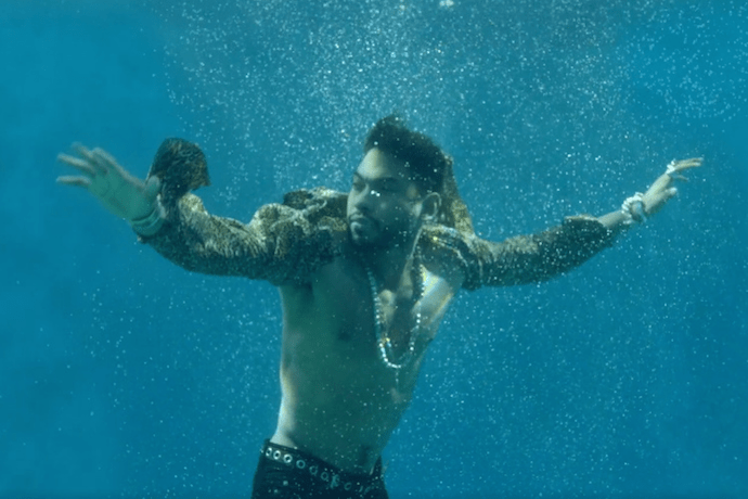 """Miguel Is the Life of the Party in His Latest Video, """"Waves"""""""