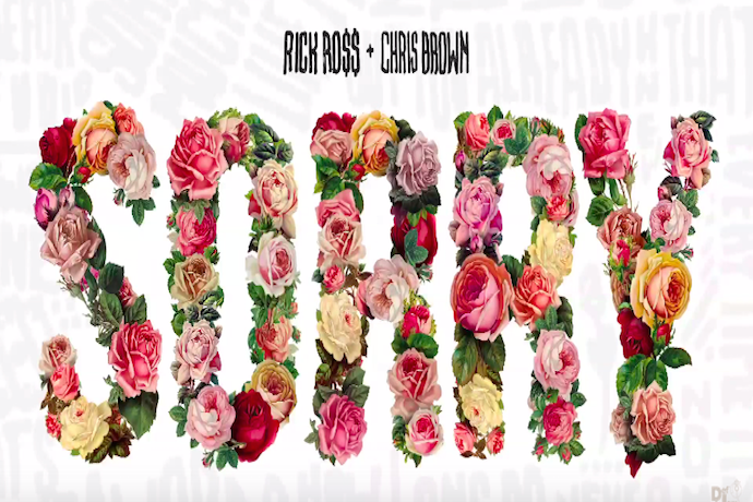 """Rick Ross Announces New Album and Releases """"Sorry"""" Featuring Chris Brown"""