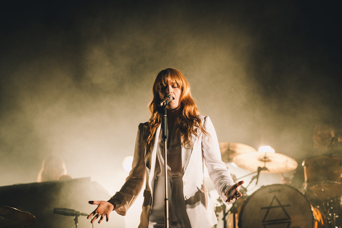 "Watch Florence + The Machine Perform ""What Kind of Man"" on Colbert"