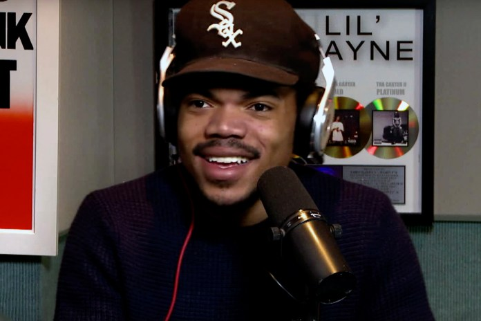 Chance The Rapper Is Making Music With Stephen Colbert