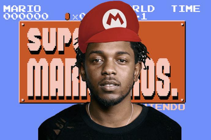 "Kendrick Lamar Meets Super Mario Bros in ""King Kunta"" Mash-Up"