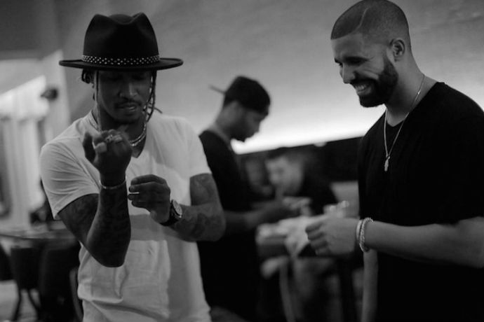 Drake Brought out Future at Austin City Limits