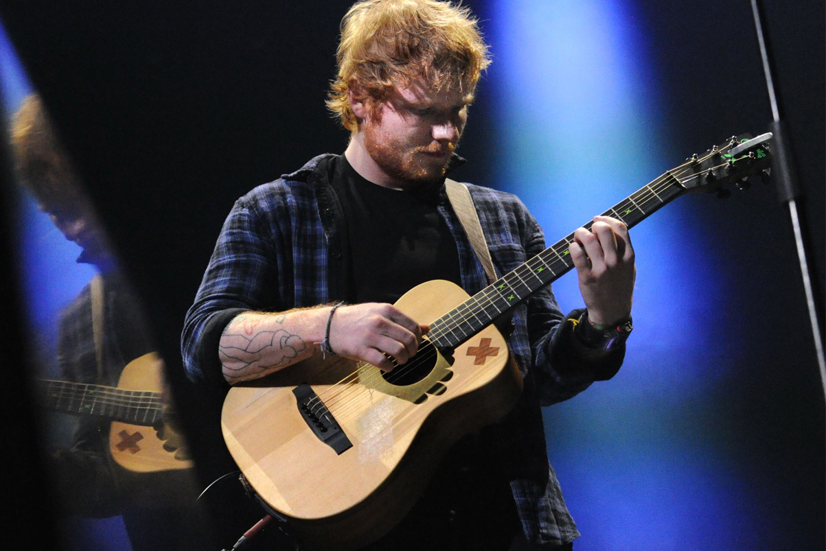 Ed Sheeran Breaks Spotify Record for Most Plays for a Song