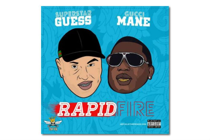 "Gucci Mane Jumps on New Song With Superstar Guess ""Rapid Fire"""