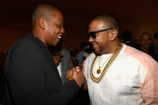"JAY Z and Timbaland Attend Inaugural ""Big Pimpin'"" Trial"