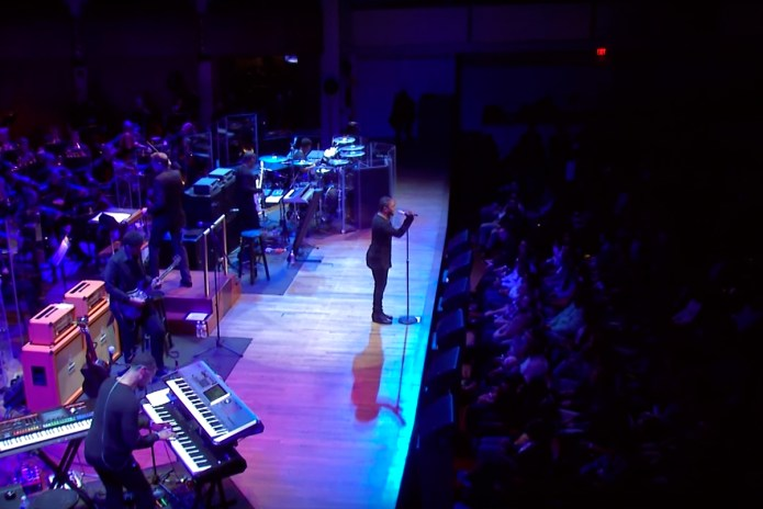 Watch Kendrick Lamar Perform With the National Symphony Orchestra