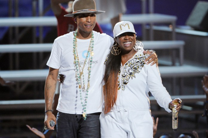 "Listen to a Snippet of Missy Elliott & Pharrell's ""WTF"""