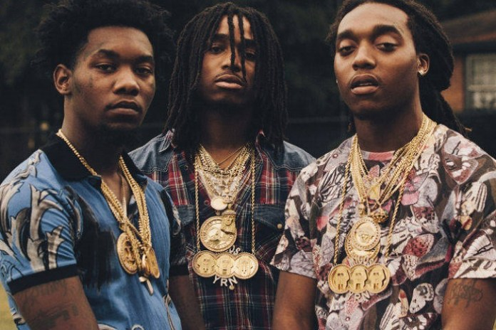 """Migos Recruit 2 Chainz & Jeezy for """"Pipe It Up"""" Remix"""