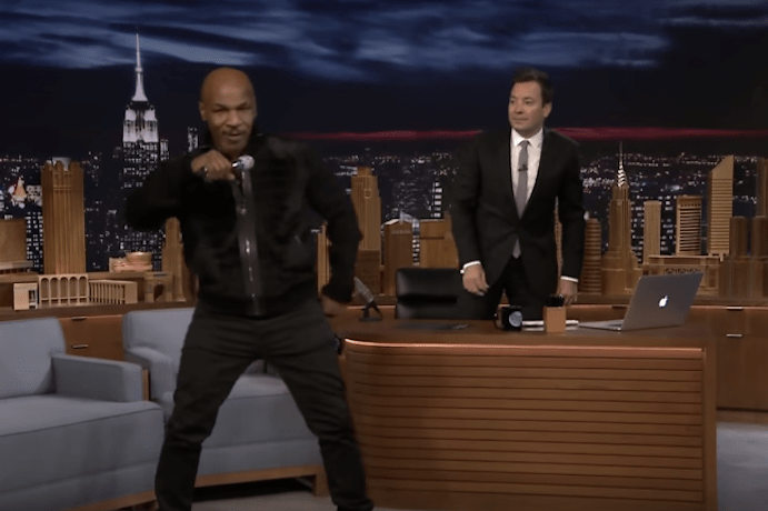 "Watch Mike Tyson's Rendition of ""Hotline Bling"""