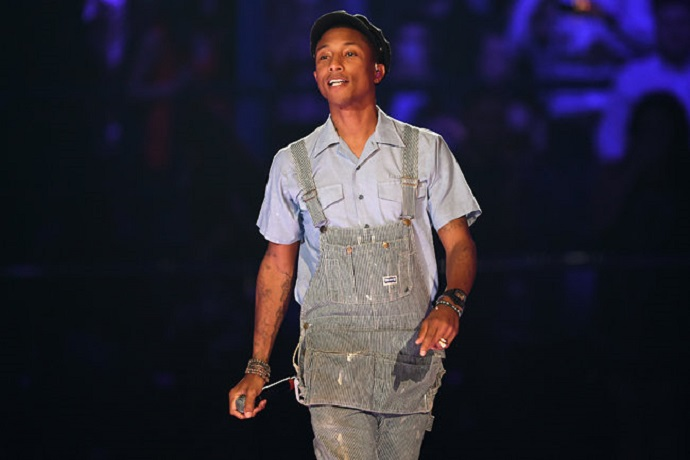 Pharrell Closed out the 2015 MTV EMAS