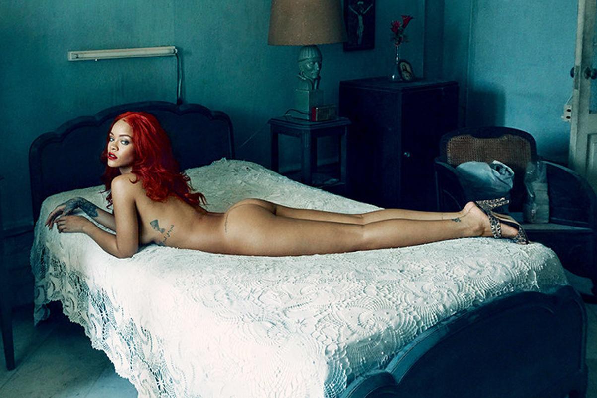 Rihanna Bares All for Vanity Fair's November Issue