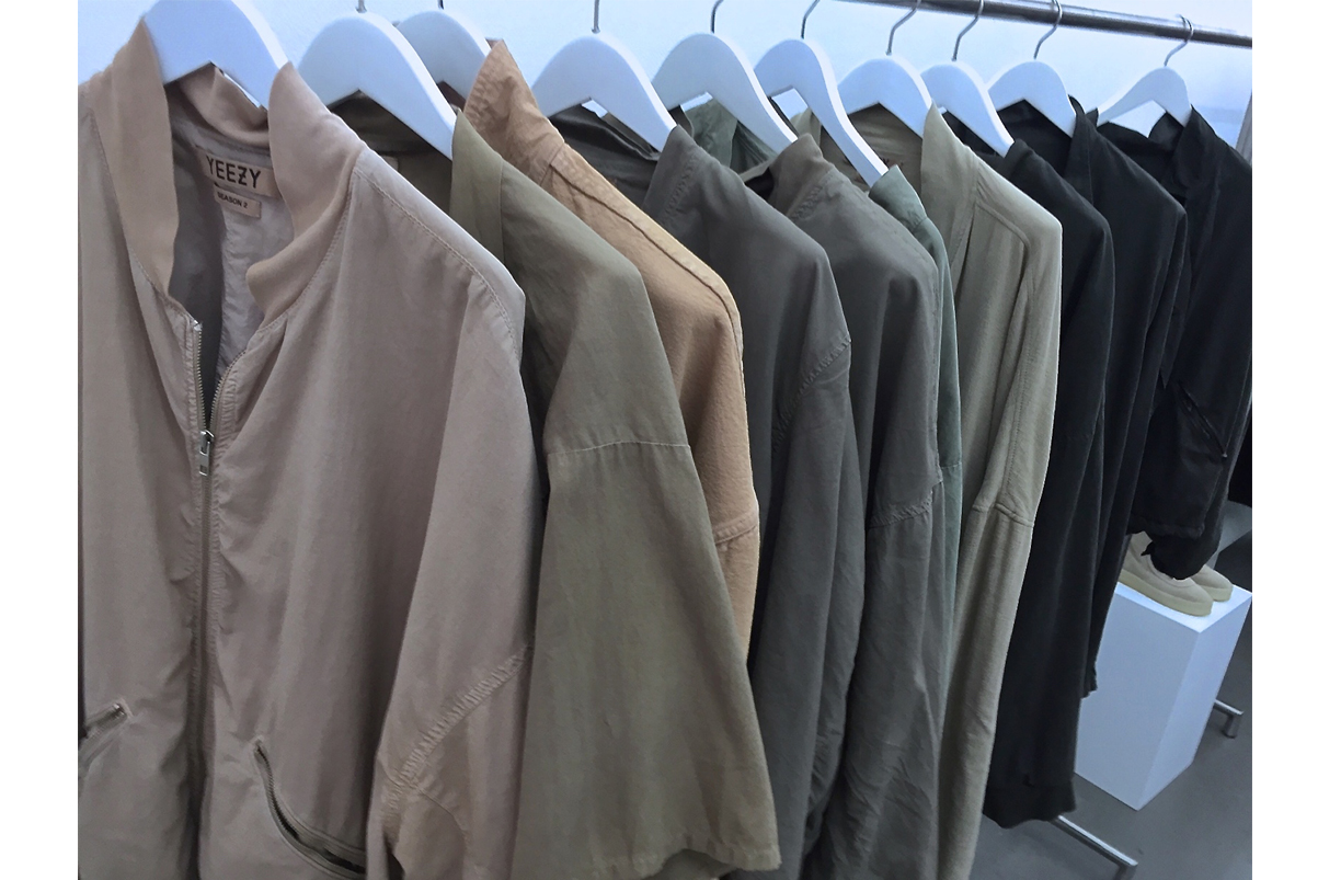 theres a showroom of kanye wests yeezy season 2 collection in paris