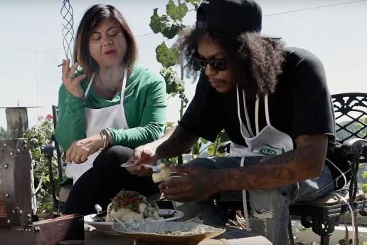 Watch Ab-Soul Make Sicilian Weed Cauliflower