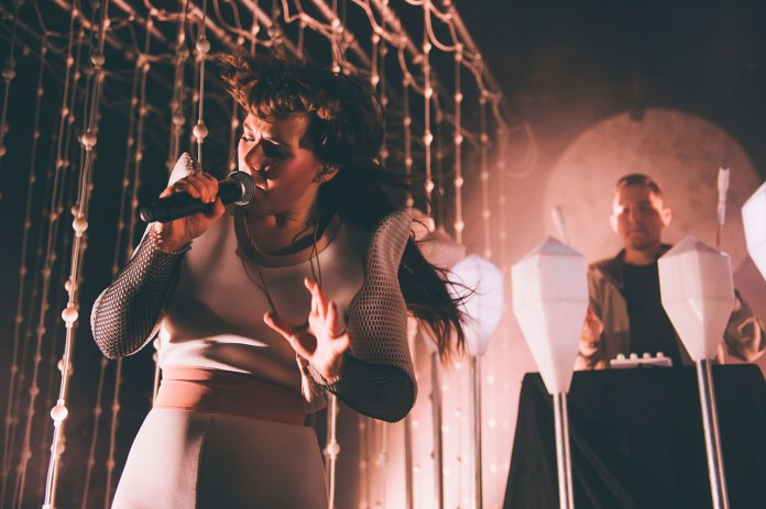 "Watch Purity Ring Perform ""Begin Again"" on ' Jimmy Kimmel Live!'"