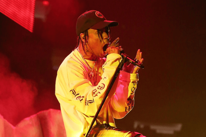 Watch Travi$ Scott Turn up on Late Night with Seth Myers