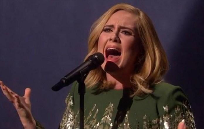 "Watch Adele Perform ""Hello"" Live"