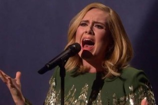 "Watch Adele Perform ""Hello"" Live"