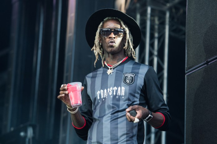 """Young Thug Shares a Holiday Cut """"No Problem"""""""