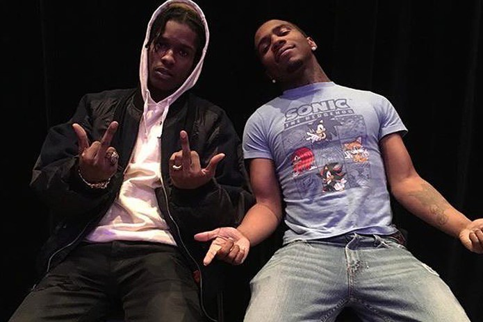 A$AP Rocky Brought out Lil B for His 'Rocky and Tyler' Set