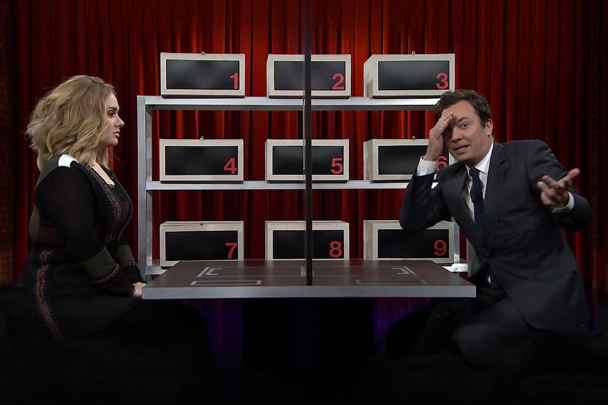 "Adele Plays ""Box of Lies"" & Sings ""Water Under the Bridge"" on 'Jimmy Fallon'"