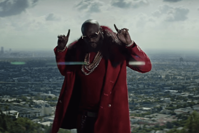 """Rick Ross Shoots Music Video at His Own Mansion With Chris Brown for """"Sorry"""""""