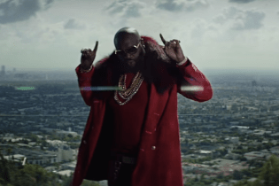 "Rick Ross Shoots Music Video at His Own Mansion With Chris Brown for ""Sorry"""