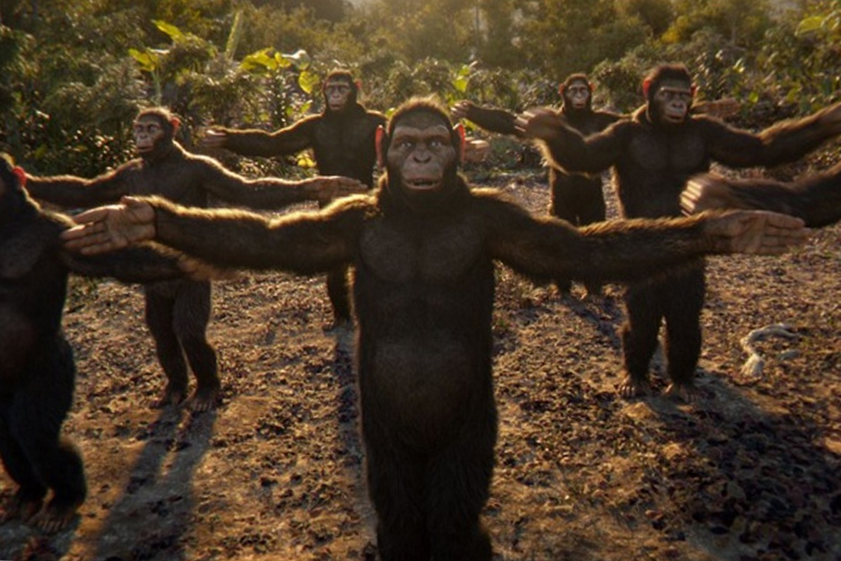 "Coldplay ""Adventure Of A Lifetime"" Video Features Dancing Chimps"
