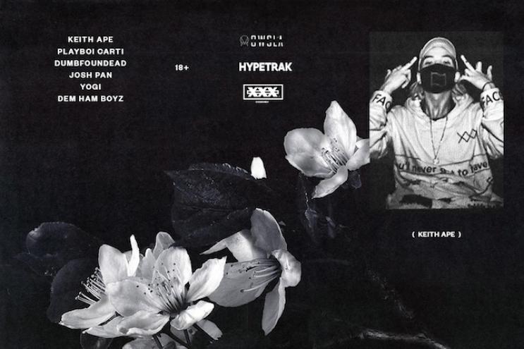 CXSHXNLY & HYPETRAK Presents Keith Ape at The Regent Los Angeles