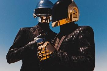 Daft Punk Unveils Retro Merch Ads