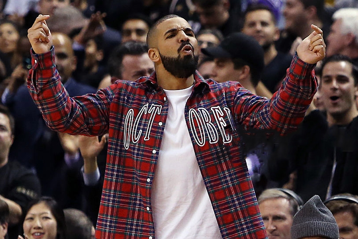 """Drake Busted Out """"Hotline Bling"""" Moves When it Came On"""