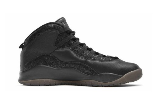 "Drake's OVO x Jordan 10 ""Black"" Releasing in 2016"