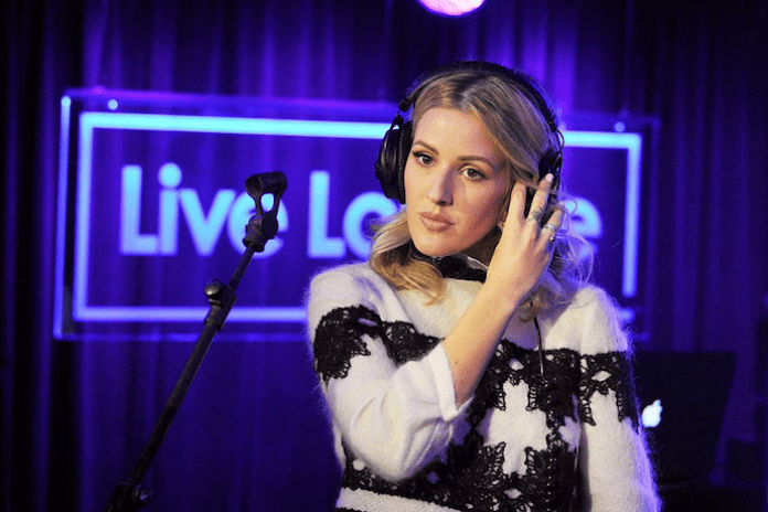 "Ellie Goulding Debuts New Single ""Something In The Way You Move"""