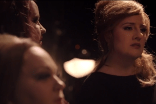 Here's Adele Auditioning As An Adele Impersonator