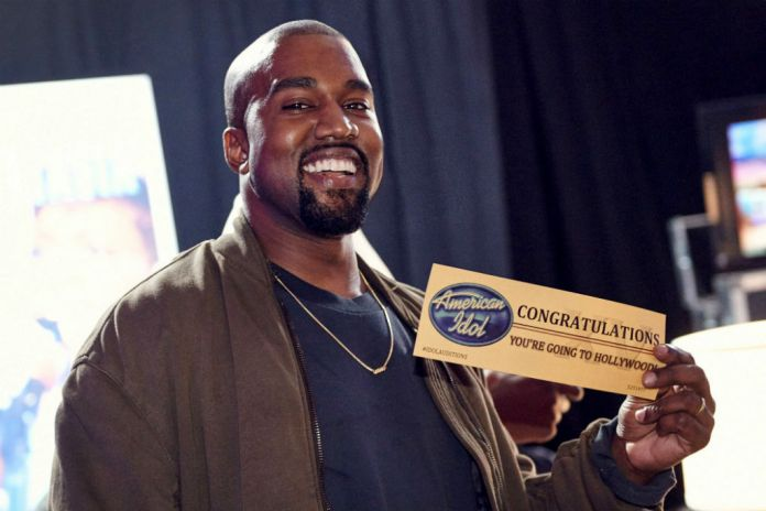 Here's Kanye West Appearing in an American Idol Commercial