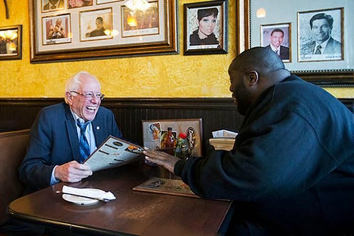 Killer Mike Eats Soul Food With Bernie Sanders