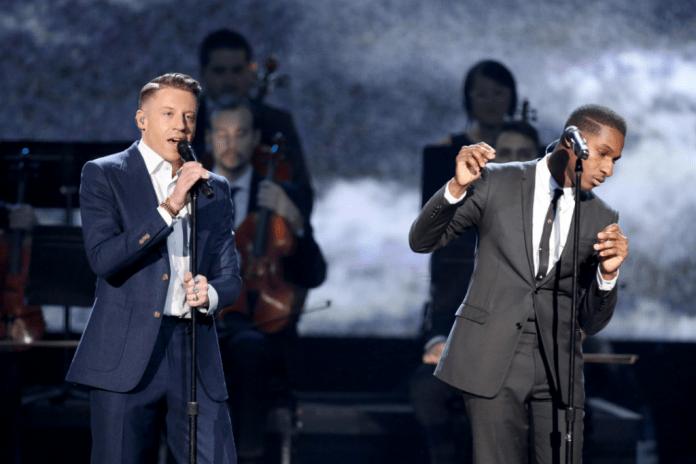 "Macklemore & Ryan Lewis Debut New Song ""Kevin"" featuring Leon Bridges"