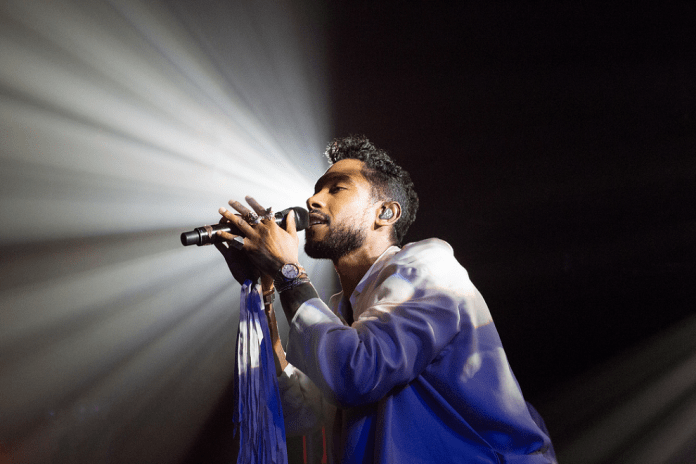 Miguel Performed With TV On The Radio